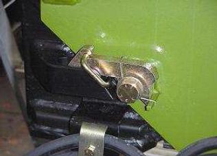 Mechanické istenie pri mechanickom vysúvaní podpier