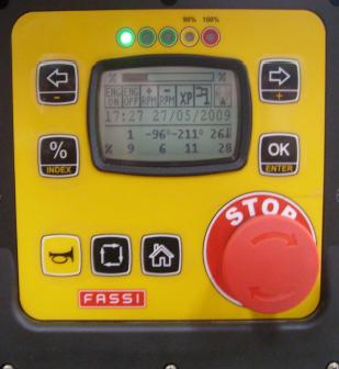 Hlavný panel (FX500)